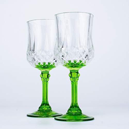 2 STÜCKE Whisky Brandy Glaswaren Heißer Rotwein Glas Schuss Tasse Farbe Günstige Glas Tasse...