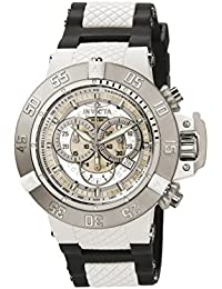 Invicta Subaqua Men's Chronograph Quartz Watch with Polyurethane Strap – 0924