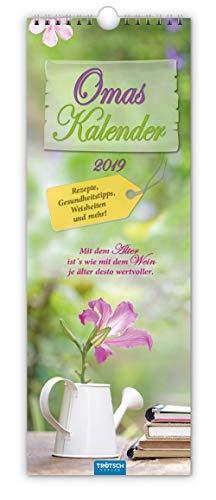 Omas Kalender 2019 Notizkalender für Großmutter Küchenkalender Terminkalender: Rezepte, Gesundheitstipps, Weisheiten und mehr!