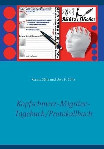Kopfschmerz-Migräne-Tagebuch/Protokollbuch XXL