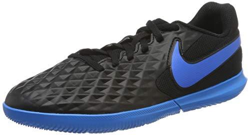 Nike Unisex-Kinder Legend 8 Club Ic Fußballschuhe, Schwarz (Black/Blue Hero 004), 37.5 EU