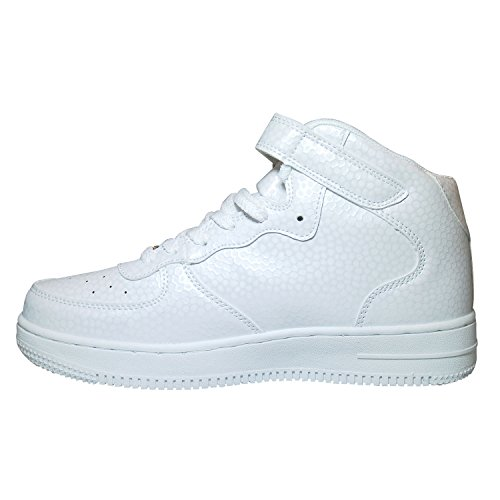 Néon Gr Branco De Homens Calçado 41 Top Fitness Mulheres High Sapatos 36 Lazer Desportivo p165wSWFq