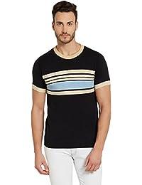 Globus Black Striped Men's T-shirt