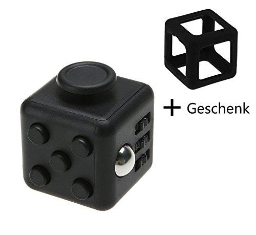 #XY Life Fidget Cube Finger Spielzeug Gadget, gegen Stress (schwarz)#