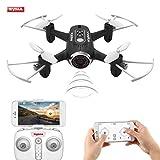 Syma X22W Drone Mini con Cámara WIFI FPV 2.4GHz 4CH 6-Axis Cuadricoptero con Retención de Altitud,...