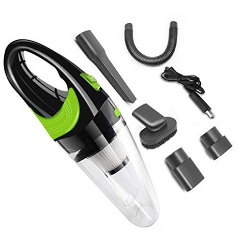 ForceSthrength Aspirapolvere per Auto Mini aspirapolvere Portatile Senza Fili Super aspirazio