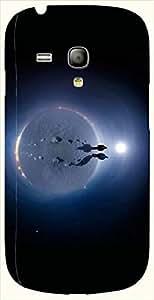 Striking multicolor printed protective REBEL mobile back cover for S3 Mini / Samsung I8190 Galaxy S III mini D.No.N-L-10929-S3M