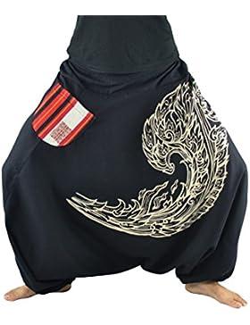 Pantalones bombachos para hombres y mujeres con impresión de alta calidad, pantalones cagados S-L de un tamaño...