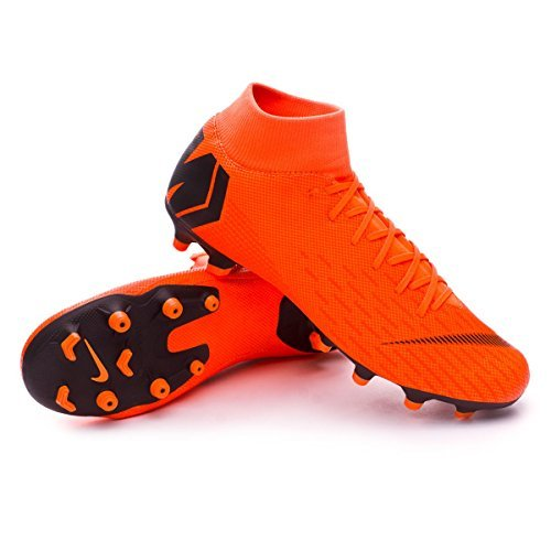 Nike scarpe superfly 6 academy fg/mg arancione 2018 44 arancione
