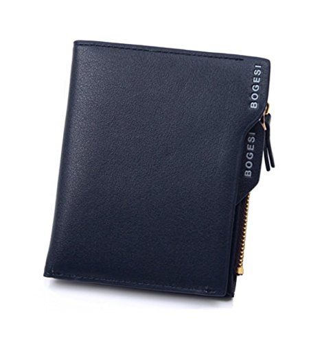 BOGESI Blue Men's Wallet