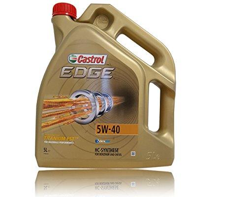 Castrol edge 5W - 40 huile de moteur