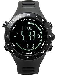 [Lad Weather] sensore tedesco bussola digitale altimetro barometro termometro previsioni meteo multifunzionale orologi