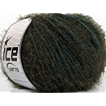 ICE Yarns Dahlia kaki, Dark Grey/50 G - 55 m/originale in turkey