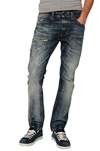 Diesel Herren Jeans Skinny Wash IT I_IT 00966, Farbe: Blau Dunkelblau