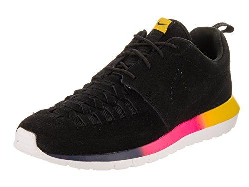 Nike Roshe Run NM Woven Black / Tour Yellow / White