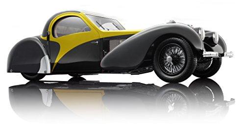 Bauer Exclusive 7828 z75y - 1 : 12 Bugatti Type 57sc Atalante 1937 - Véhicule Miniature