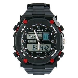 SUNSKY Reloj digital de la exhibición reloj digital / reloj del deporte ( Color : Red ) de SUNSKY