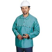 Steel Grip GS8945-19JC-XL - Ropa de protección para soldar, algodón tratado, con protección dorsal de 48,2 cm, talla XL