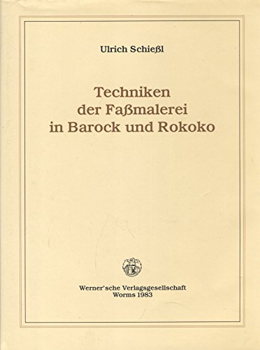 Techniken der Fassmalerei in Barock und Rokoko. ...dass alles von Bronce gemacht zu sein scheine