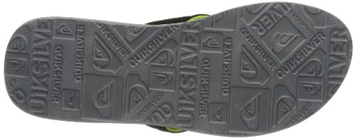 Quiksilver Quilted Checkers, Tongs homme Vert (Xkkg)