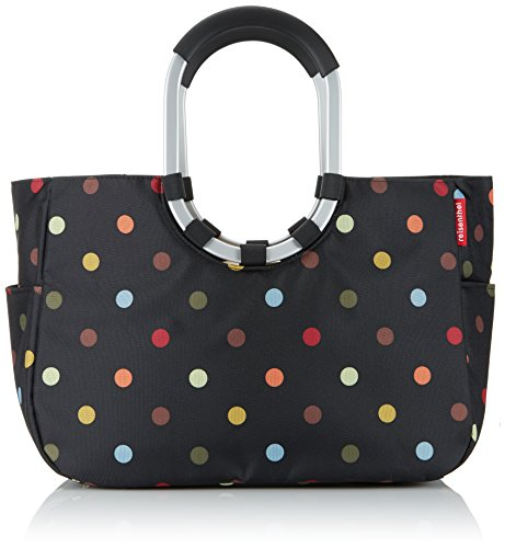 reisenthel loopshopper L dots  Maße: 46 x 34,5 x 25 cm / Volumen: 25 l