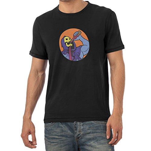 TEXLAB - Drinking Problem - Herren T-Shirt Schwarz