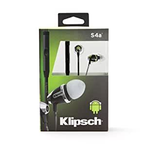 Klipsch Image S4A-II In-Ear Headphone with Mic (Black)