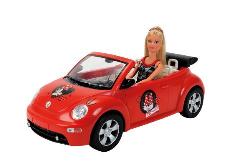 Simba - 105745896 - Poupée - Minnie Mouse - Steffi Love - New Beetle Convertible 4006592558963