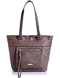 [Sponsored]Lino Perros Women's Handbag (Light Brown)