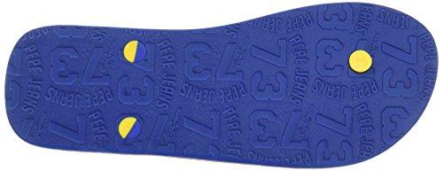 Pepe Jeans London Herren hawi Flavour Zehentrenner Blau (Blue)