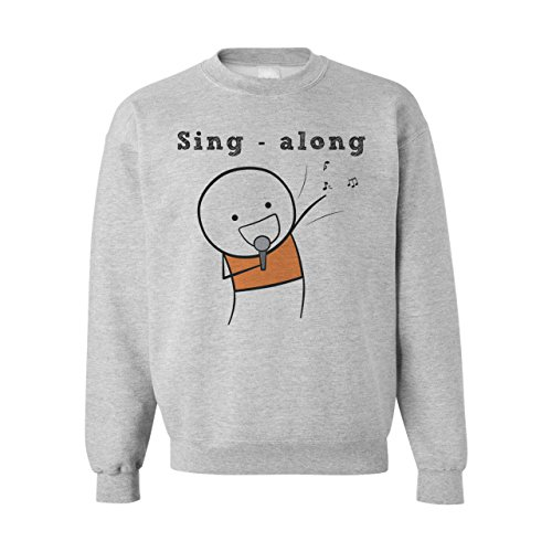 Sing Along Singer Design Small Unisex Sweater