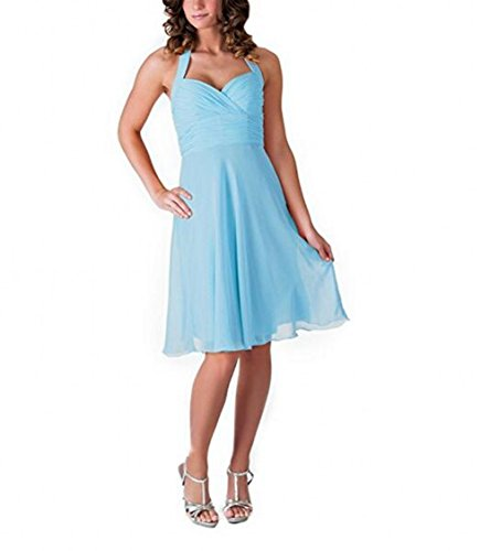 Leader of the Beauty - Robe - Femme bleu ciel