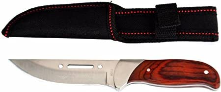 antique handicraft Outdoor Fix Blade Knife for Hiking Camping Survival, 19 cm