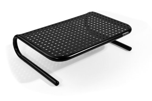 allsop-metal-art-jr-monitor-stand-14-inch-wide-platform-holds-18kg-40-lbs-with-keyboard-storage-spac