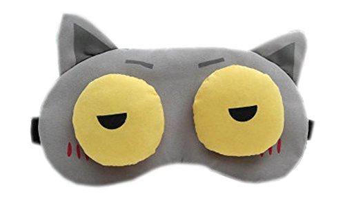 Schlafmaske Schlafenaugen-Abdeckung Super-Smooth Augenmaske für Reise, Drunk