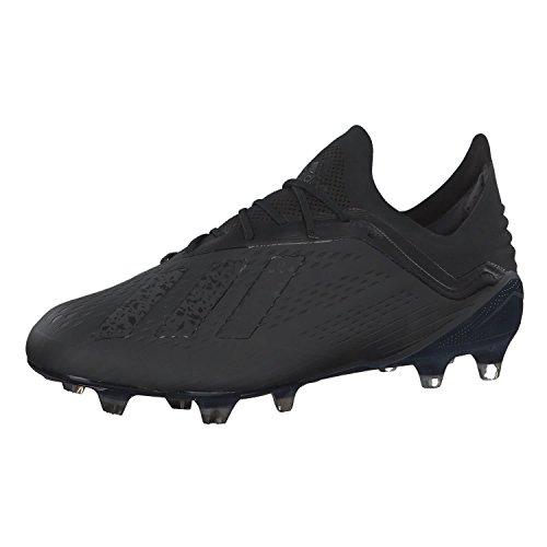 adidas Herren X 18.1 Fg Fußballschuhe, Schwarz (Negbás/Ftwbla 000), 42 2/3 EU