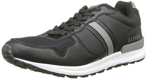 KaporalJoey - Sneaker Uomo , Nero (nero), 42