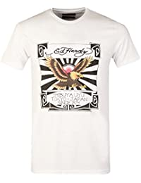 Ed Hardy - T-shirt - Manches Courtes - Homme blanc Japan 1974 | White