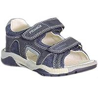 Primigi - Primigi Sandaletti Bambino Blu Pelle Strappi 87680 - Blu, (Primigi Bambini Blu Sandali)