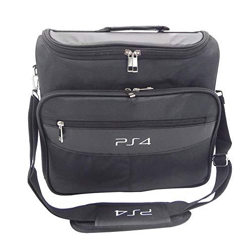 onevwing Sac de Transport pour PS4, Sac de Rangement Multifonction de Voyage pour PlayStation4 PS4 Noir