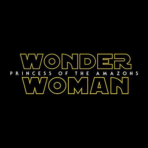 Wonder Woman Star Wars Logo Men's Vest Black