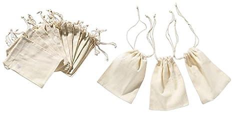 Sacs En Tissu - Petits sacs en coton 12