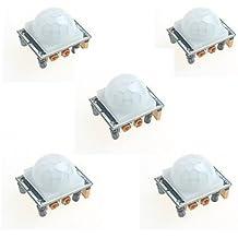 5x HC-SR501Infrarot menschlichen Körper Induktion Modul Pyroelektrischer Sensor Infrarot-Sensor Sonde für Arduino