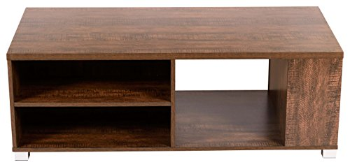 DeckUp Versa Coffee Table (Wenge, Matte Finish)