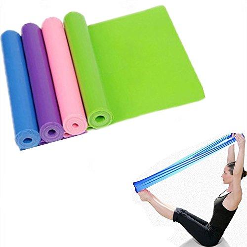 Physioband von Efanr, Gymnastikband, Übungsbänder, Expander für Tanzgymnastik, Training, Fitness-Training, Yoga, Pilates von außergewöhnlicher Dehnlänge: 1,5m, blau