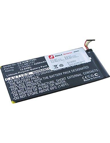 Batterie pour ASUS K004, 3.7V, 4250mAh, Li-Pol