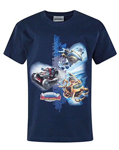 Jungen - Noisy Sauce - Skylanders - T-Shirt (7-8 Jahre)