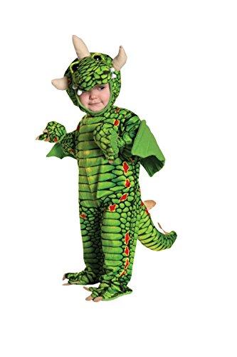 Dragon Drache Kinder Baby Kostüm Fasching Karnevall Junge gift grün (Dragon Horn Kostüm)