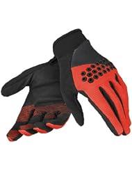 Dainese - Guantes infantil, talla XL (Talla del fabricante : XL), color negro / rojo