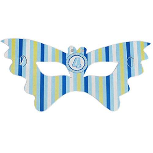 Die Maske 2 Packs Partei Eye Party Supplies Geburtstag Dekor, 4-jährige Junge (Junge 4-jähriger Party-ideen Geburtstag)